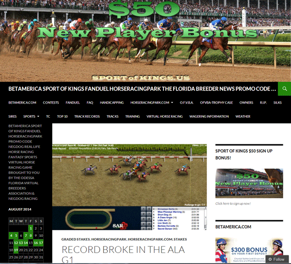 Partners Virtual Horse Racing